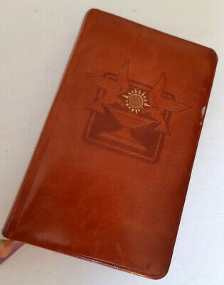 Leather Saint John's Sunday Missal and every day prayerbook, Vintage 1960s