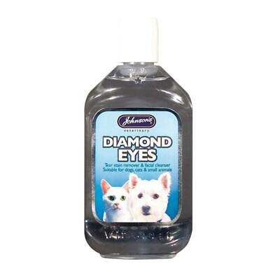 Johnson's Diamond Eye Tear Stain Remover Facial Cleaner for Cats, Dogs, Puppies