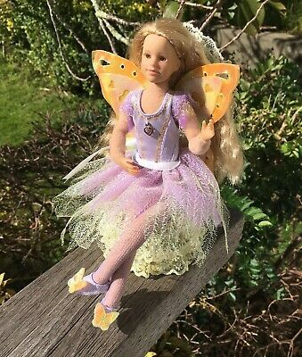 Gorgeous Doll Fairy Posable Only Hearts Club OHC With Upholstered Chair
