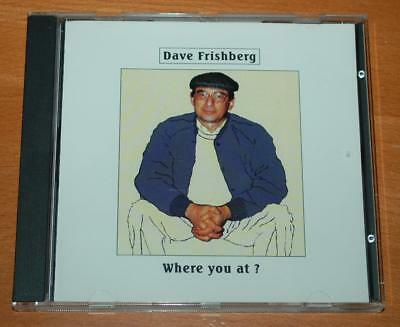 Dave Frishberg - Where You At ? - 1991 US Sterling Label CD