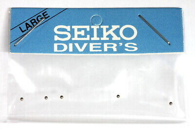 Set of 5 stainless steel clickballs for Seiko 6309 & 7002 divers watches