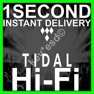 TIDAL Hi-Fi FAMILY Plan |+| 6 Users 3 Months GUARANTED |+| DELIVERY INSTANT