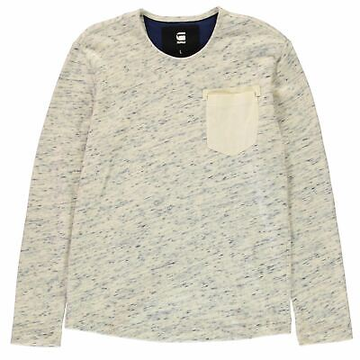 42a9f2f2c6a G STAR HOMME Sweat Pull Col Rond Manches Longues Sport - EUR 37