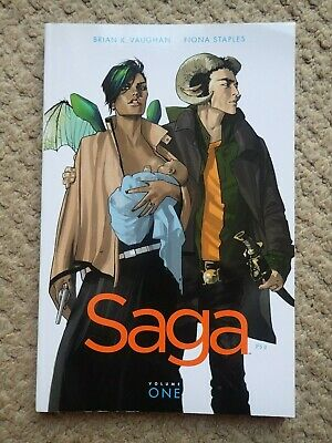 Saga Volume 1, Image comics, graphic novel