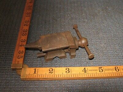 Tiny Small Vintage Anvil & Vice Jeweller Live Steam Model Craft Bench Tool Kit