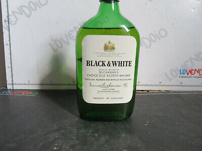 Black & White   Special Blend  Scotch Whisky   Cc 400  Scotland  Vintage