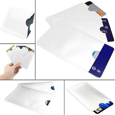Contactless Credit Card Rfid Protection Theft Blocking Holder Sleeves Wallet