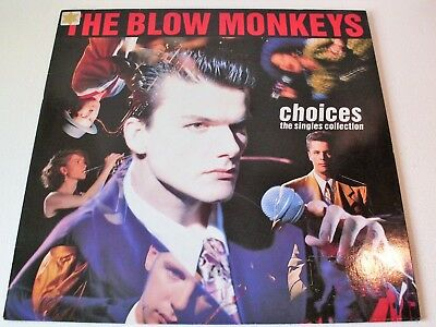 THE BLOW MONKEYS *CHOICES The Singles Collection* 1989 LP Vinyl