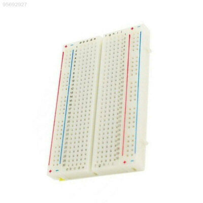 8791 Solderless Prototype PCB Breadboard 400 Points Holes Clear Electronics 793D
