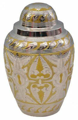 Beautiful Eternal Grace brass cremation urn / Best Quality Adult Urn Closeout