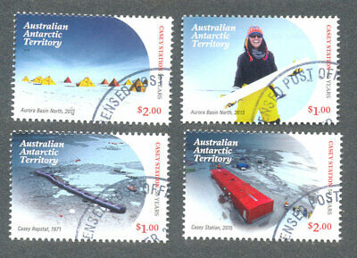 Australian Antarctic Territory-2019-Casey Research Station set f.used cto