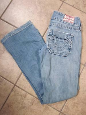986f74ebc TRUE RELIGION Sammy Big T 100% Cotton Side Pocket Jeans...size 26x30