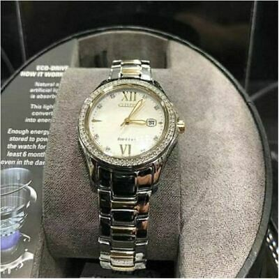 Citizen Eco Drive Womens Quartz Stainless Steel Casual Watch FE1144-85B