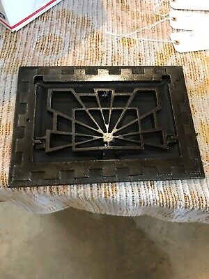 J 11 6 Av Price Each Antique Deco wall mount heating grate 9.75 x 13.75