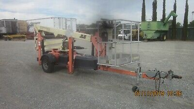 BRAND NEW NIFTY TM34 40 Ft Towable Boom Lift w/ Honda engine