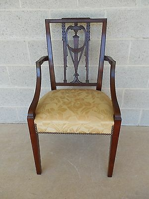 WALLACE NUTTING original Square Back Federal Style Arm Chair