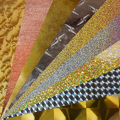 ZED Drum Wrap Self Adhesive Vinyl Smooth,Shiny,Metal,Silver,Gold,Bronze,Copper