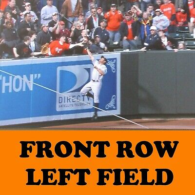 2 Front Row Seats Baltimore Orioles Tickets vs. Boston Red Sox May 5/8/19