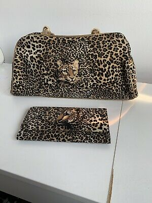 168b4cc65191 Butler and Wilson Vintage Leopard Bag Slightly Used + Matching New Purse