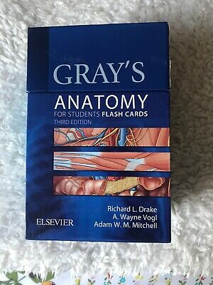Gray's Anatomy For Students Flash Cards Third Edition
