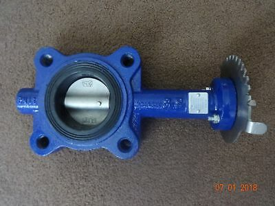 """2.5"""" Inch BOSS Butterfly Valve FIG-36530616, FIG 36530616 Lugged, Flange PN16"""