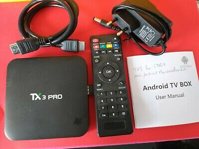TV box TX3 Pro  Android  Quad Core S905X