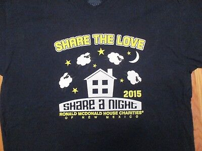Share the love Share a Night Ronald McDonald House New Mexico NM T Shirt Size XL