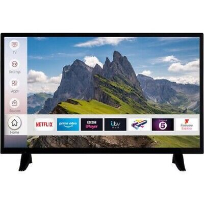 electriQ 32 Inch Smart HD Ready LED TV WiFi Freeview HD 2 HDMI