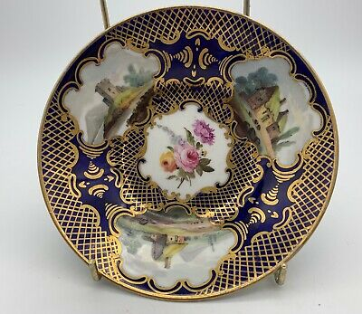 Antique English Porcelain Deep Saucer circa 1825