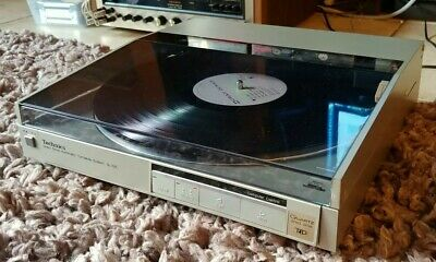 Technics SL-Q5 Direct Drive linear tracking automatic turntable serviced!