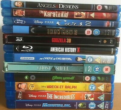 BLU RAY HD DVD Video Film Selection Bundle - Pick Your Favourite Movie / Show