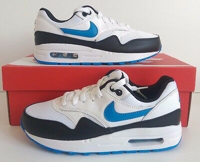 Details about NEW Nike Air Max 1 GS White Tour Yellow Blue Recall 807602 107 Size 5.5Y