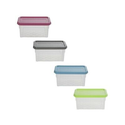 Spacemaster 0.8 Litre Plastic Storage Box