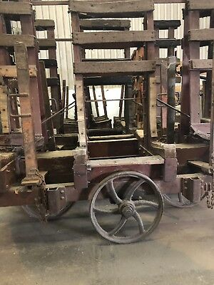 Mobile Glass Stillage 100 Years Old 5 For Sale The Price Is For 1