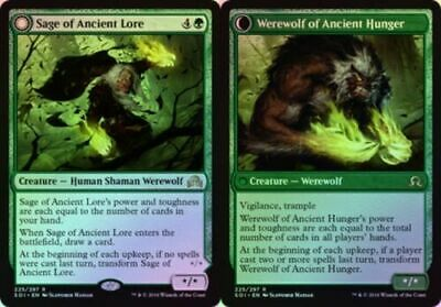 MTG Rare - FOIL Sage of Ancient Lore x1 NM - Shadows over Innistrad