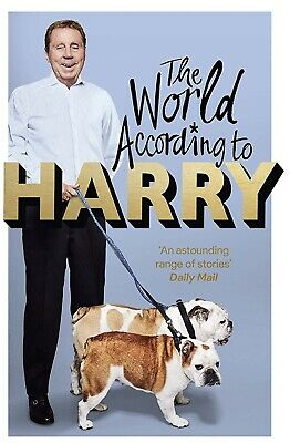 New Harry Redknapp Book Released 23/5/19. Advance Signed Copy Order Now £25 Del