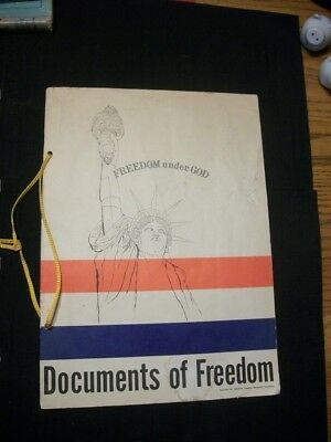 Vintage Documents of Freedom set citizenship papers