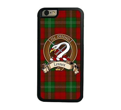 Lennox Scottish Clan Tartan Apple iPhone 6  iPhone 6 Plus case
