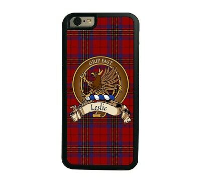 Leslie Scottish Clan Red Tartan Apple iPhone 6  iPhone 6 Plus case