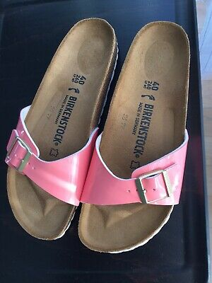 a2e3337dadc BIRKENSTOCK MADRID OMBRE Pearls Silber Orchid Naturleder