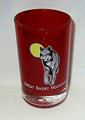"GREAT SMOKY MOUNTAINS   Shot Glass   2.75"" T"