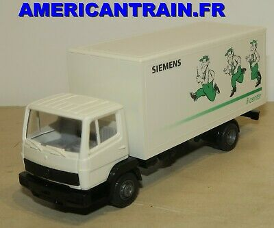 431 18 MB Mercedes Benz 814 pianale camion//PL Wiking 1//87 n LEISTRITZ OVP #3632