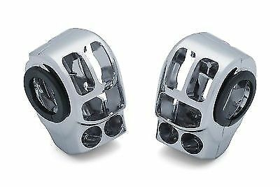 Custom Chrome Replacement Switch Housing Kit Harley FLH//T 14-18 Repl 71500185