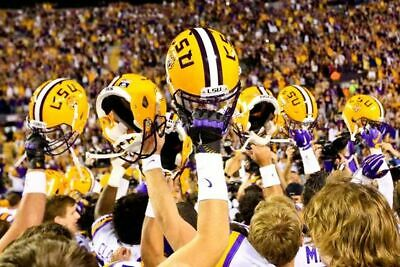 Longhorns vs. LSU Tigers Football - 2 Tickets Section 1, Row 48 - 09/07/19