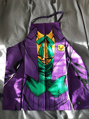 Official DC Comics Originals ** The Joker ** Cooking Apron (BRAND NEW)