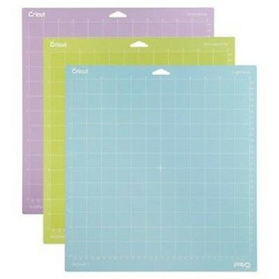 New Cricut 12in x 12in Variety 3-pack Grid Pattern Cutting Mats