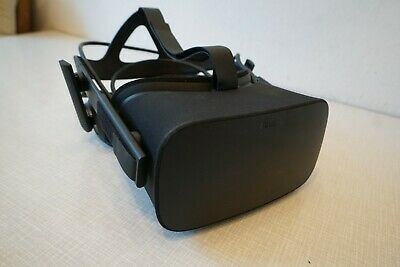 Oculus Rift Virtual Reality Headset Touch Motion-Controller Sensor Bundle