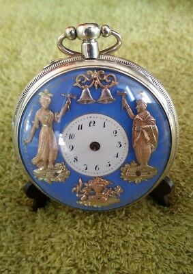 Automaton With Repeater Quarter &  Hours Achard A Geneve Xviii Atomate Jaquemart