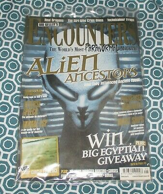 Encounters Paranormal Magazine May 1997 Issue Eight  Alien Ancestors UFOs GHOSTS