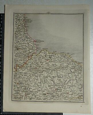 1794 - John Cary Map 60 - Parts of Durham, North Yorkshire